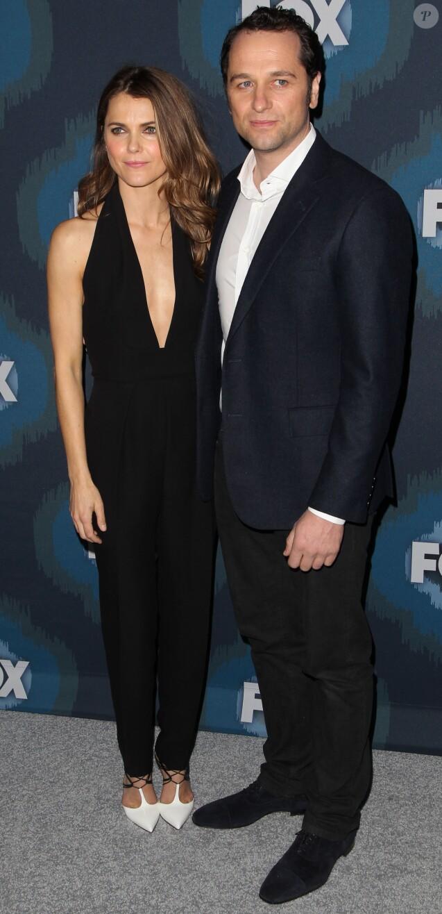 "Keri Russell, Matthew Rhys - People à la soirée ""Fox Winter TCA All-Star"" à Pasadena, le 17 janvier 2015."
