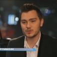 """Jeff Panacloc dans l'émission hommage """"Génération Balavoine"""", le 8 janvier 2016."""