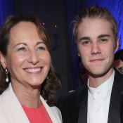 Ségolène Royal : Tout sourire avec Justin Bieber... Merci Sean Penn !