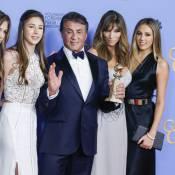 Sylvester Stallone : Au top en famille, le lauréat gaffe lors des Golden Globes