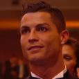 Cristiano Ronaldo lors du Ballon d'or 2015 à Zurich le 11 janvier 2016.