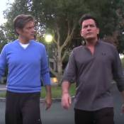 """Charlie Sheen, séropositif, a suspendu son traitement : """"Je suis né pour mourir"""""""