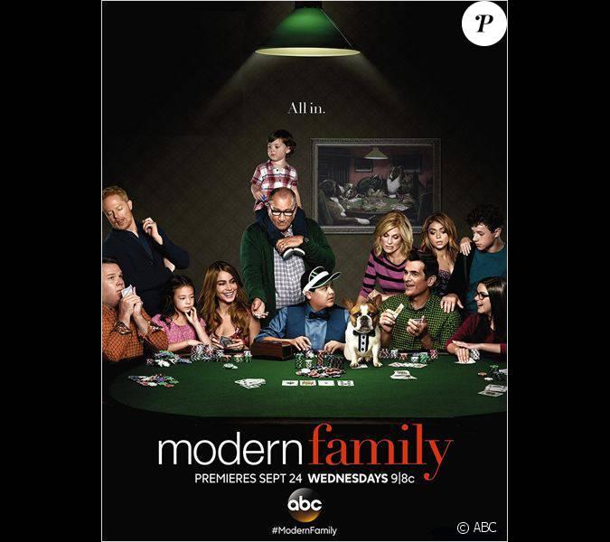affiche promo pour la 6e saison de modern family