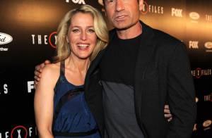 Gillian Anderson et David Duchovny : Baiser fougueux, tension, ils font le show
