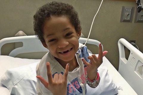 Devon Still (NFL) : Sa petite Leah, guérie de son cancer, quitte enfin l'hôpital
