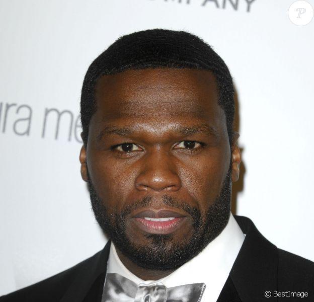 """50 Cent (Curtis James Jackson III) - People à la soirée """"Weinstein Netflix Globes Party 2015"""" à Beverly Hills. le 11 janvier 2015"""