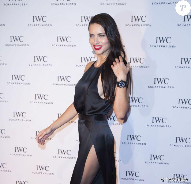 Adriana Lima - Photocall du dîner IWC pour le SIHH (Salon International de la Haute Horlogerie) à Genève, le 19 janvier 2016. © Olivier Borde/Bestimage19/01/2016 - Genève