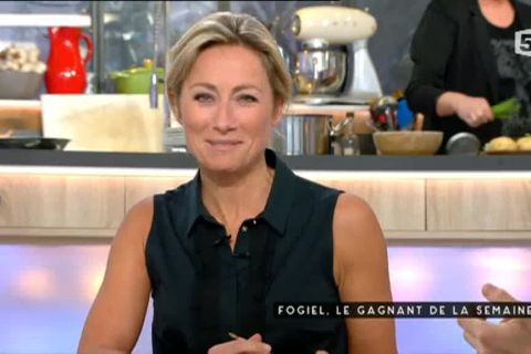 Anne-Sophie Lapix : Son tacle discret (mais bien senti !) à Yves Calvi...