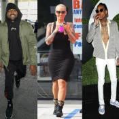 Kanye West et Amber Rose : La guerre des ex touche le fond...