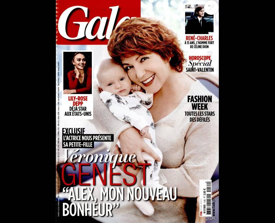 Magazine Gala en kiosques le 3 février 2016.