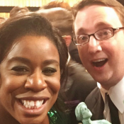 Uzo Aduba (Orange is the New Black) : Trophée du plus original des cavaliers