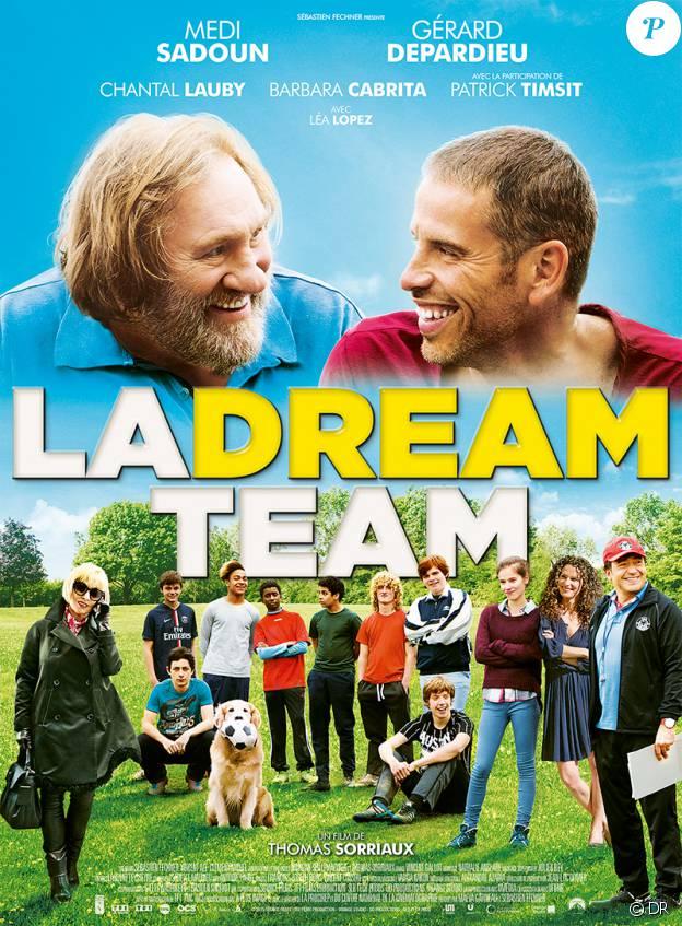 Affiche du film La Dream Team, en salles le 23 mars 2016