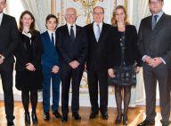 Serge Telle: Immense fierté à Monaco devant sa femme Guilaine Chenu et leur fils