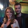 """""""Emilie, gagnante de  Secret Story 9  et son frère Loïc, le 14 novembre 2015."""""""