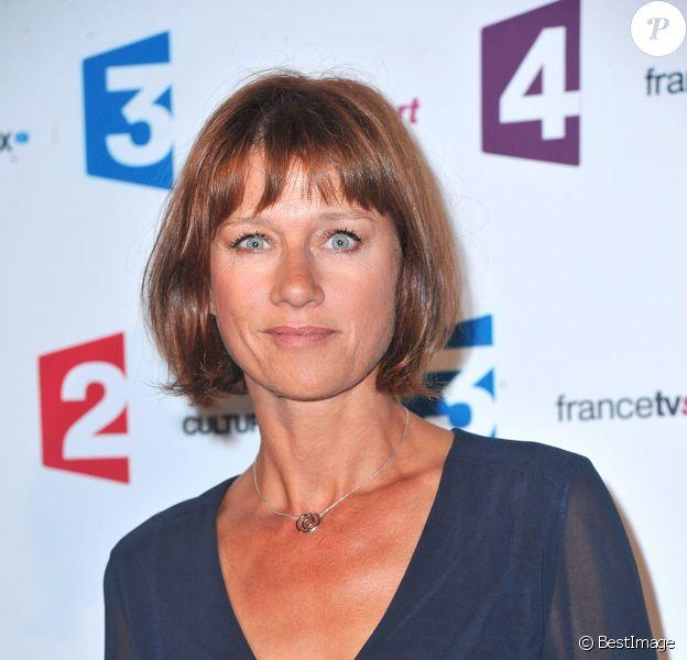 Carole Gaessler au Palais de Tokyo à Paris, le 26 août 2014.