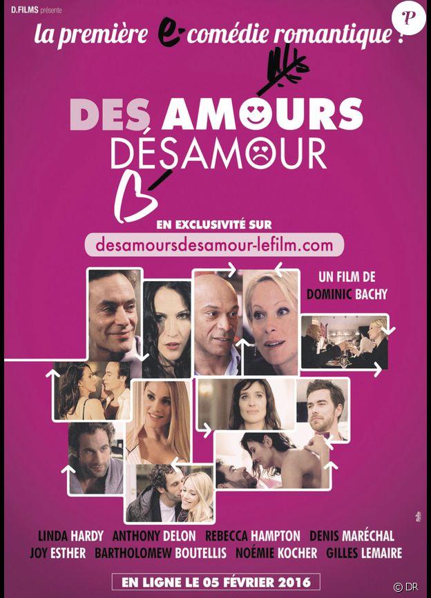 Affiche du film Des amours, désamour