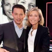 """Claire Chazal, amie de Marc-Olivier Fogiel : """"Il m'est d'une aide précieuse"""""""