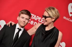 Sharon Stone et son fils Roan, 15 ans : Duo chic et parfait devant Demi Lovato