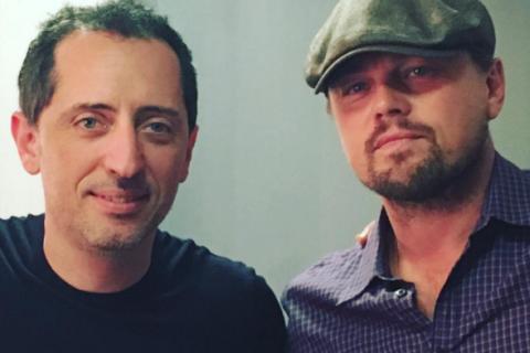 """Gad Elmaleh : Son rêve américain se poursuit avec Leo DiCaprio et un """"fou rire"""""""