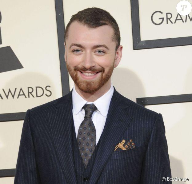 Sam Smith - 58e soirée des Grammy Awards au Staples Center à Los Angeles, le 15 février 2016.