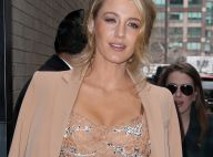 Blake Lively sculpturale pour la mode new-yorkaise
