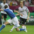 Marco Reus lors de la demi-finale de l'Euro 2012 entre l'Allemagne et l'Italie, le 28 juin 2012 au Stade National de Varsovie, le 28 juin 2012