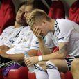 Marco Reus après la défaite en demi-finale de l'Euro 2012 le 28 juin 2012 faceà l'Italie, à Varsovie
