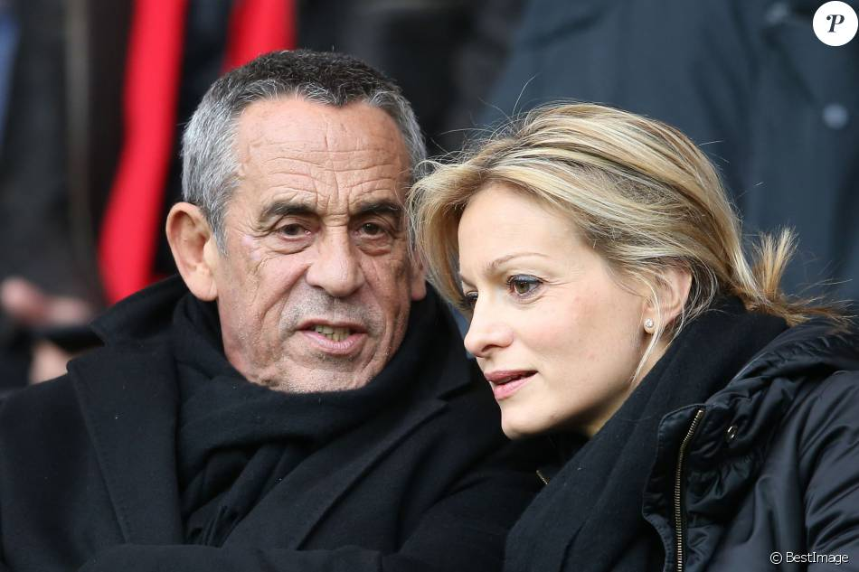 thierry ardisson et audrey crespo mara amoureux parmi les people pour psg reims purepeople. Black Bedroom Furniture Sets. Home Design Ideas