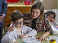 Letizia d'Espagne : Généreuse et élégante à la rencontre des enfants malades