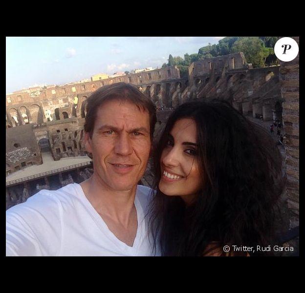Francesca Brienzina et Rudi Garcia - Photo publiée le 18 septembre 2014