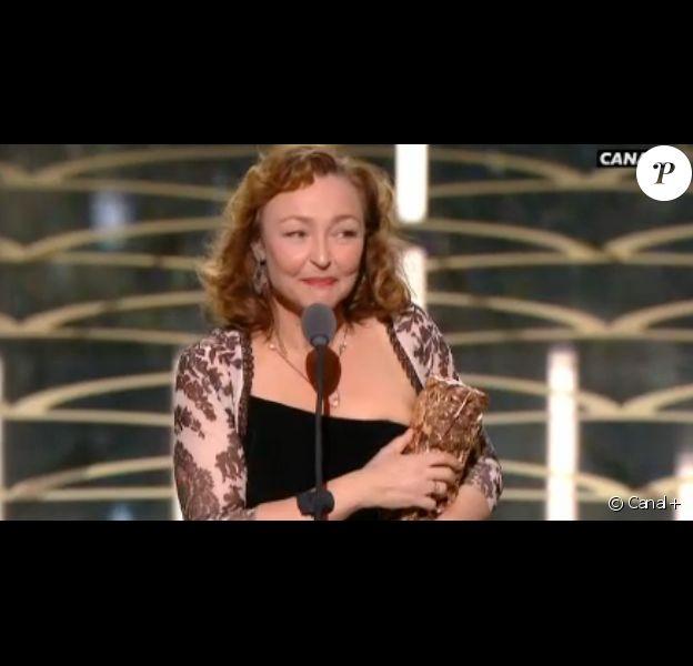 Catherine Frot remporte le César de la meilleure actrice pour Marguerite - 26 février 2016