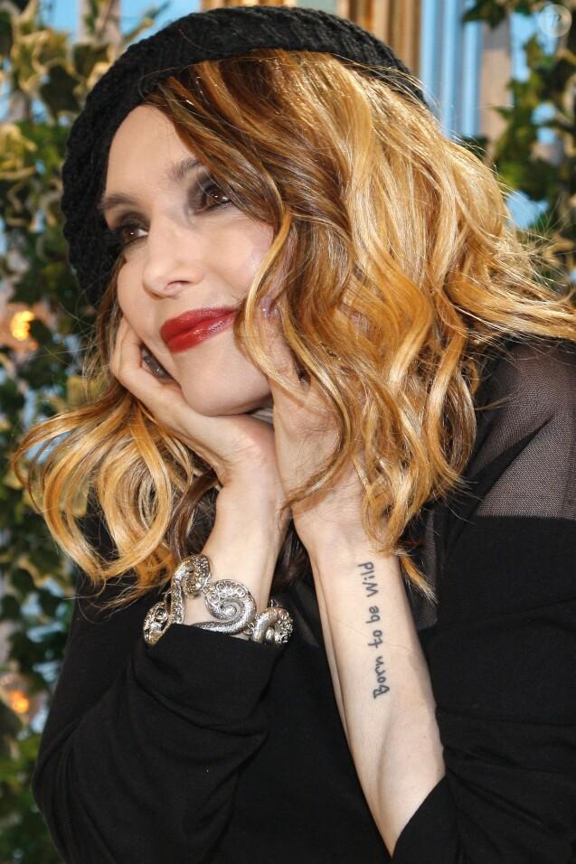 Portrait de Jeanne Mas à Paris le 11 février 2016.