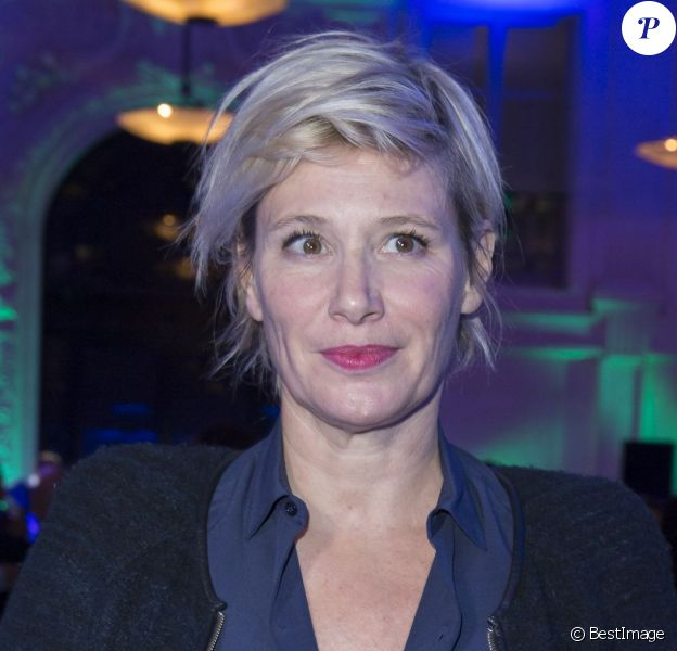 Exclusif - Maïtena Biraben à l'hôtel d'Evreux à Paris, le 5 novembre 2015.
