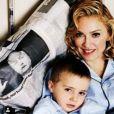 Madonna et Rocco, photo ancienne publiée sur son compte Instagram.