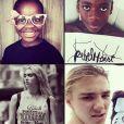 Les quatre enfants de Madonna (Mercy, David Banda, Lourdes et Rocco), photo de son compte Instagram.