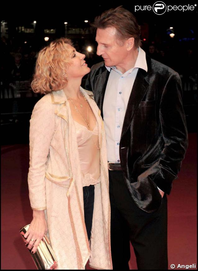 Liam Neeson et sa femme Natasha Richardson