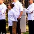 Les huit candidats dans  Top Chef 2016  (épisode du lundi 6 mars 2016 sur M6).