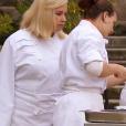 Hélène Darroze et son équipe, dans  Top Chef 2016  (épisode du lundi 6 mars 2016 sur M6).