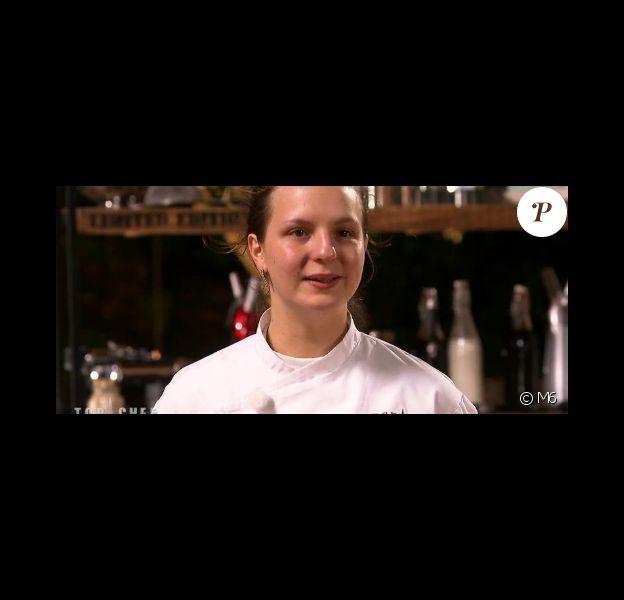 Joy Astrid, éliminée deTop Chef 2016 (épisode du lundi 6 mars 2016 sur M6).