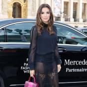 Fashion Week : Eva Longoria tout en transparence pour Shiatzy Chen