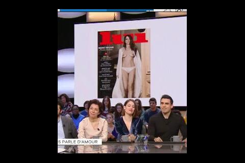 "Marie Gillain agacée : ""Mes seins nus, on ne va pas en reparler mille ans"""