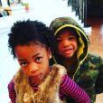 Ne-Yo a publié une photo des enfants qu'il a eu avec Monyetta Shaw sur sa page Instagram, au mois de février 2016.