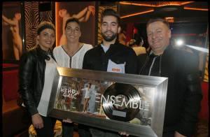 Kendji Girac entouré de ses proches pour célébrer une superbe victoire