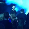 Taylor Swift fait la fête au club Omnia avec ses copines du groupe Haim au club Omnia où se produit son petit ami Calvin Harris. Photo publiée sur Instagram, le 19 mars 2016.