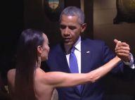 Barack Obama : Embarrassé par un tango sensuel avec une danseuse sexy...