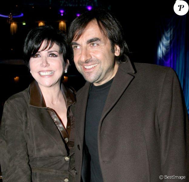 Liane Foly et André Manoukian à la soirée d'inauguration de la salle Bobino, à Paris, le 26 mars 2007.