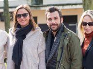 Laurent Ournac et Sandrine Quétier : Sortie hippique avec Katrina Patchett