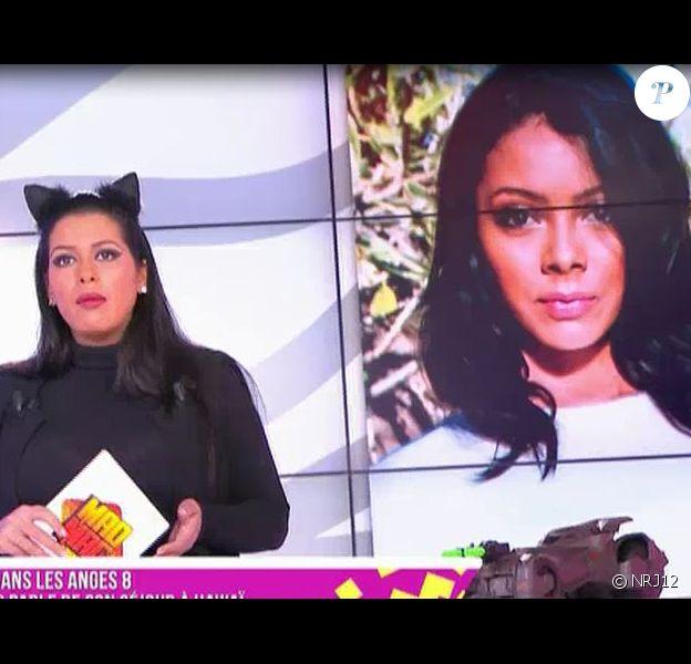 Nehuda (Les Anges 8) attaquée par Ayem Nour dans le Mad Mag de NRJ 12, le 24 mars 201, elle réplique sur Periscope