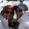 Scott Elrod : Ici, avec son épouse Vanessa sur Instagram