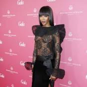 Naomi Campbell : Une robe transparente ultrasexy pour l'Icône beauté